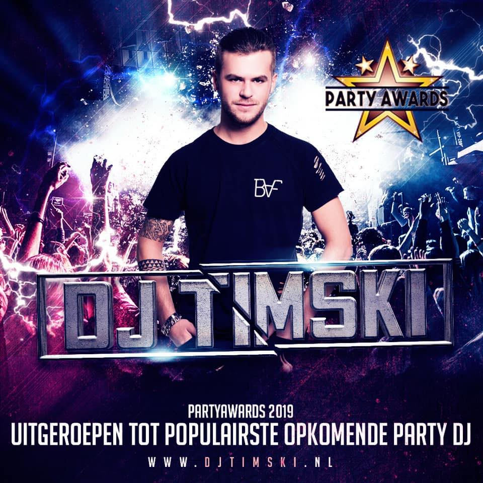 Aankondiging Jubileumweekend: Party DJ Timski