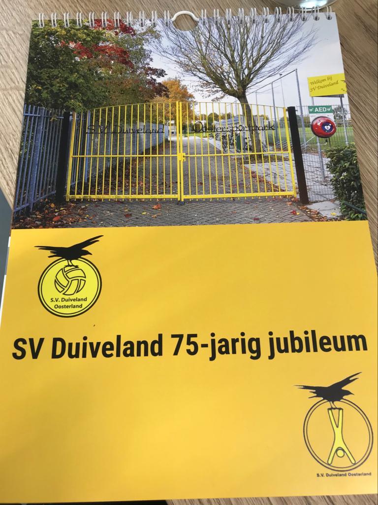 SV Duiveland verjaardagskalender nu te koop!