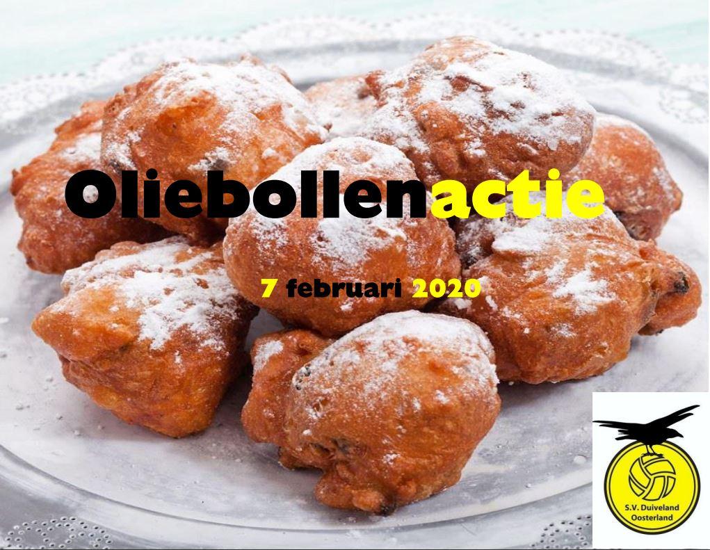 Oliebollen actie 7 februari